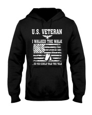 US VETERAN I WALKED THE WALK Hooded Sweatshirt thumbnail