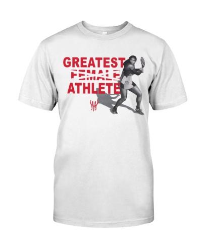 greatest athlete serena t shirt