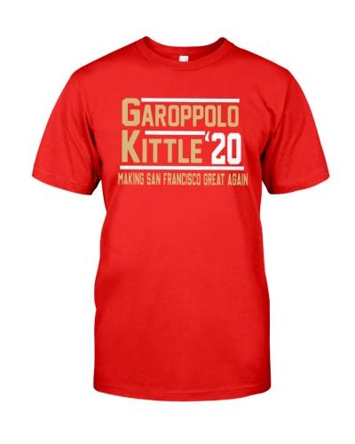 garoppolo kittle shirt