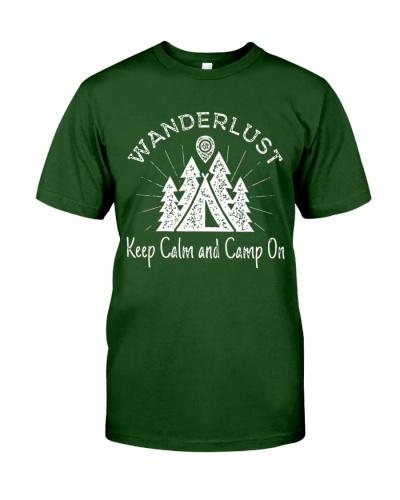 wanderlust campground t shirt