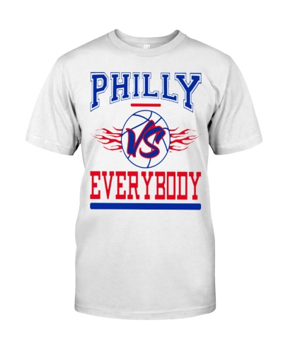 philly vs everybody shirt