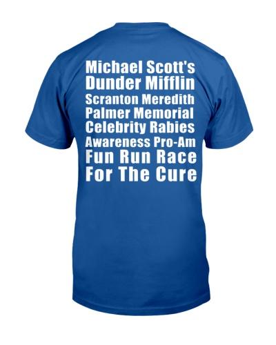 michael scott fun run t shirt