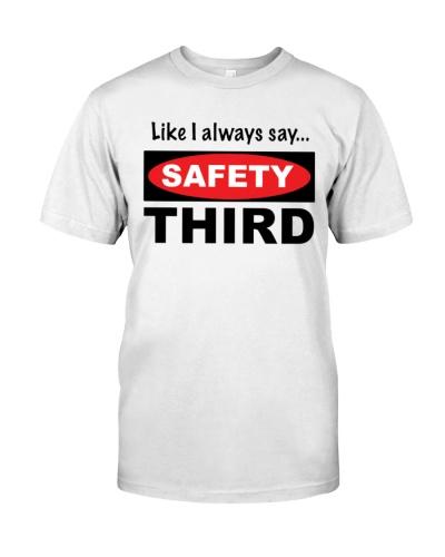 safety third t shirt
