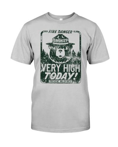 Luv smokey the bear shirt