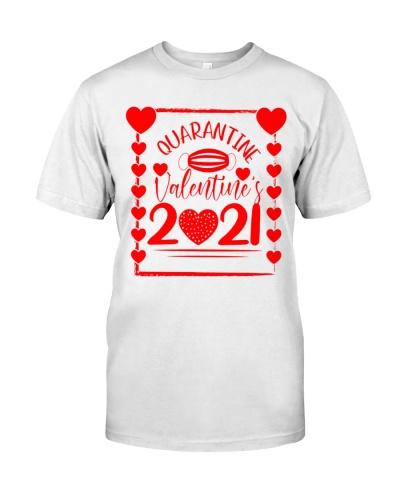 quarantined valentines day 2021 shirt