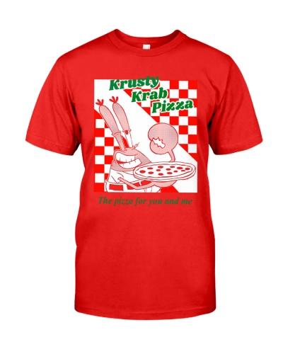 krusty krab pizza shirt
