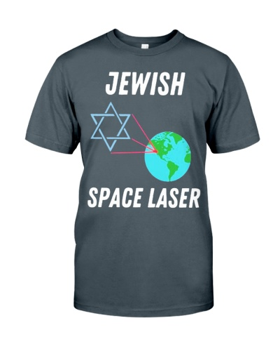 jewish space laser shirt