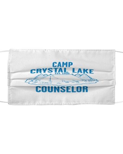 camp crystal lake cloth face mask