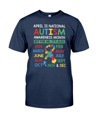 autism awareness month shirt