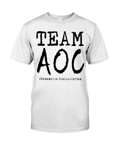 Team AOC Alexandria Ocasio Cortez Youngest shirt