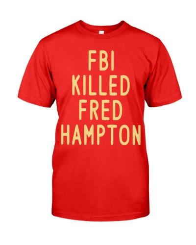 fbi killed fred hampton shirt