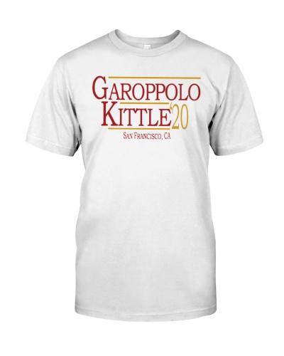 George Kittle Garoppolo Kittle 2020 t shirt