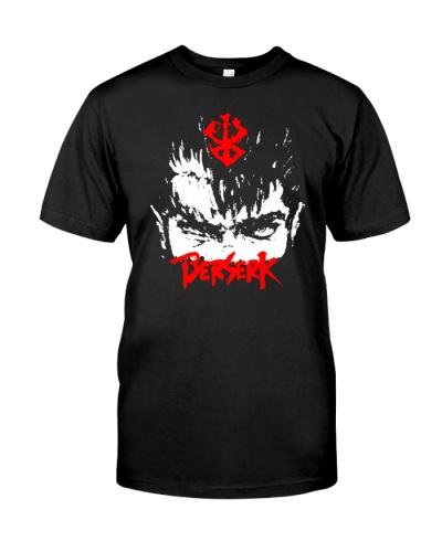 Berserk black sublimation shirt