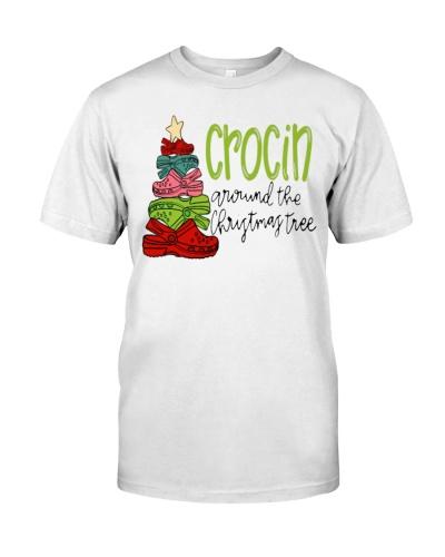 crocin around the christmas tree merch shirt