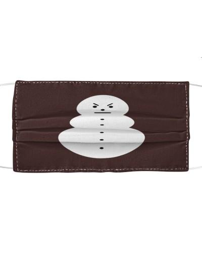 jeezy snowman cloth face mask