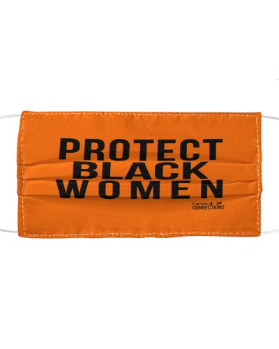 protect black women cloth face mask