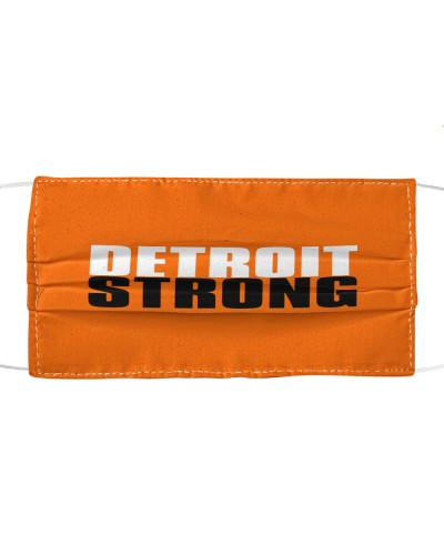 detroit strong cloth face mask