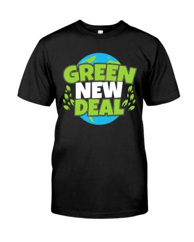 green new deal shirt
