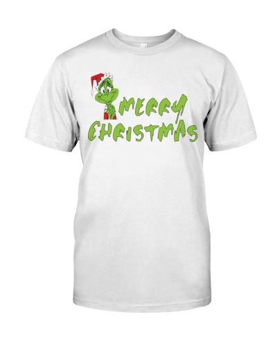 kids grinch merry christmas shirt