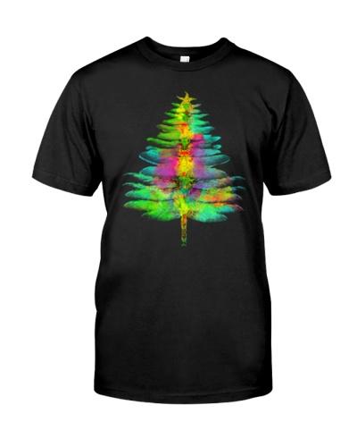 dragonfly christmas tree shirt