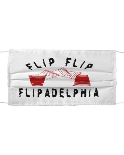 Flip Flip Flipadelphia cloth face mask