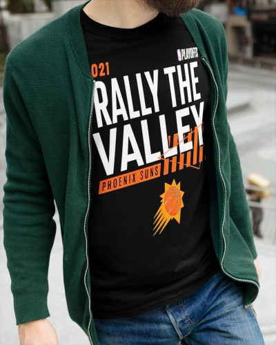 2021 Phoenix Sun railly the valley shirt