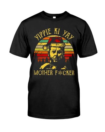 John Mcclane Yippee Ki Yay Mother Fucker Vintage Shirt