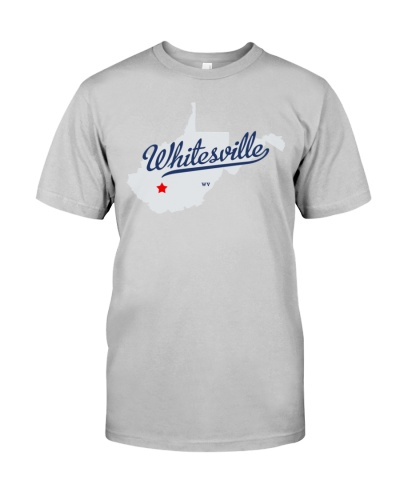 whitesville west virginia city shirt