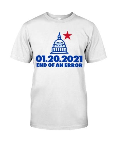 end of an error 2021 shirt