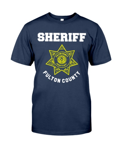 fulton county georgia sheriff deputies uniform shirt