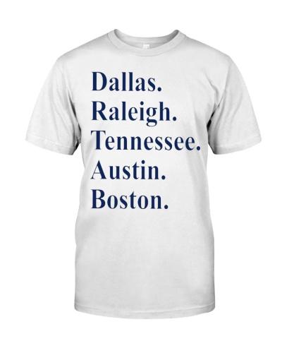 dallas raleigh tennessee shirt