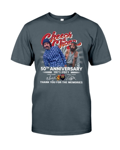 cheech and chong 50th anniversary 1971 2021 shirt