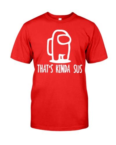 that is kinda sus shirt