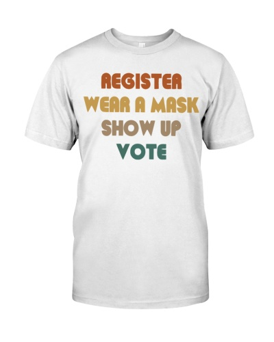 can you wear a political shirt to vote