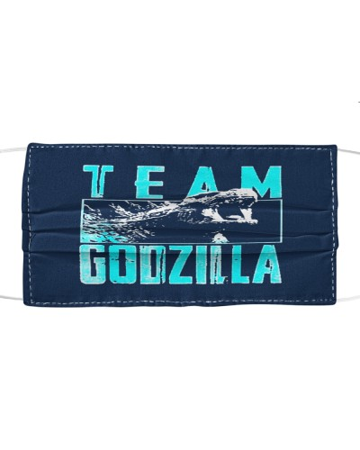 team godzilla face mask