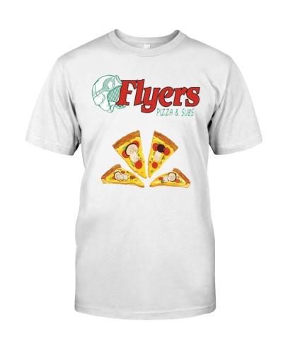 flyers pizza shirt