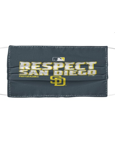 respect san diego padres cloth face mask