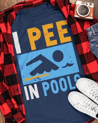 i pee in pools shirt