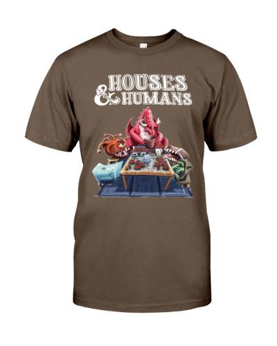 houses and humans shirt