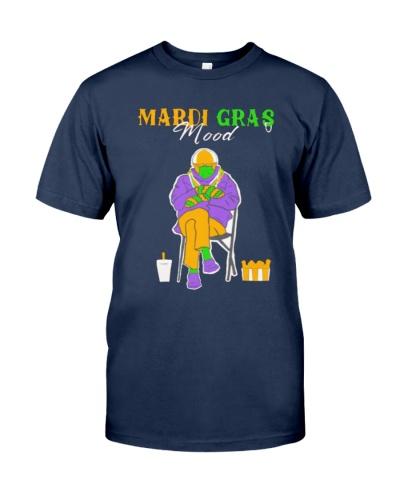 Bernie Sanders Mardi Gras Mood shirt