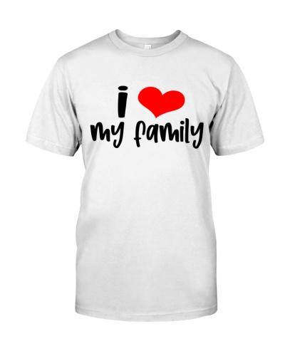 tell my family i love them t shirt