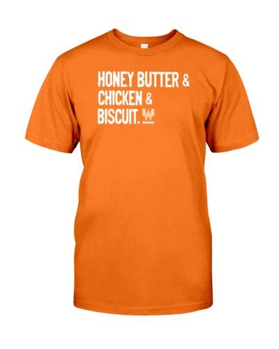 honey butter chicken biscuit t shirt