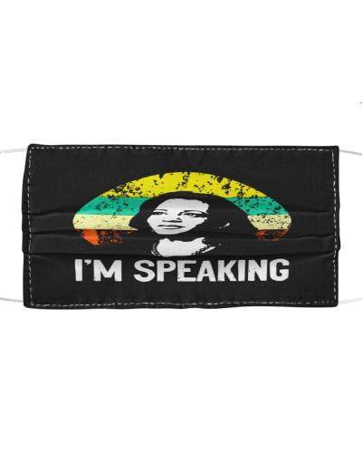 im speaking kamala harris cloth face mask