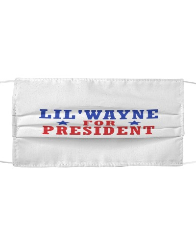 lil wayne for president cloth face mask