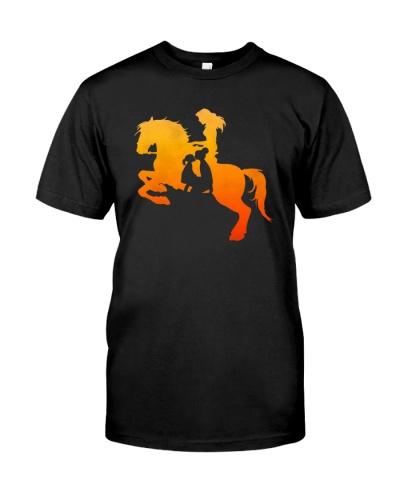 Cowgirl horse shirt