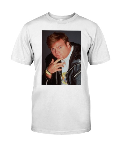 kid cudi chris farley shirt