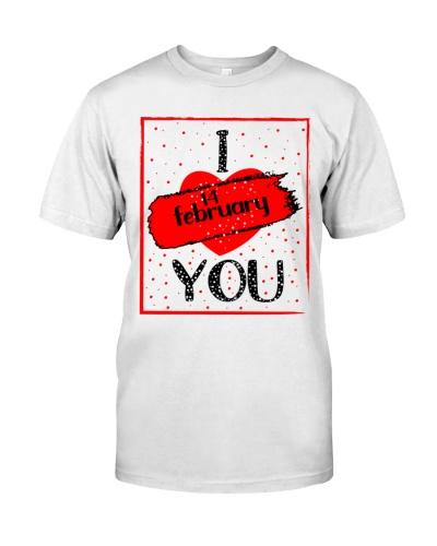 i love you happy valentines day 2021 shirt