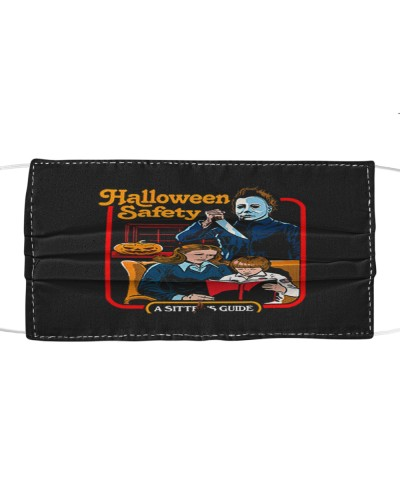 halloween safety michael myers cloth face mask