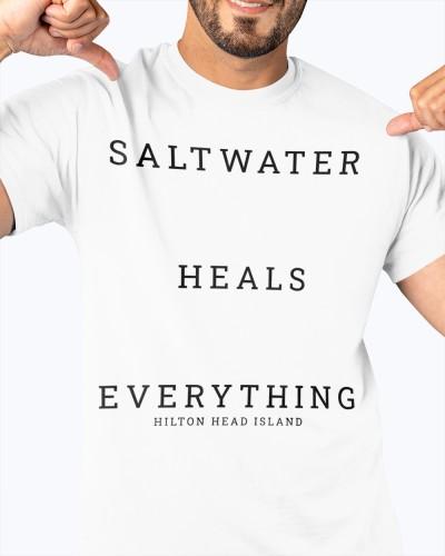 saltwater heals everything hilton head shirt company