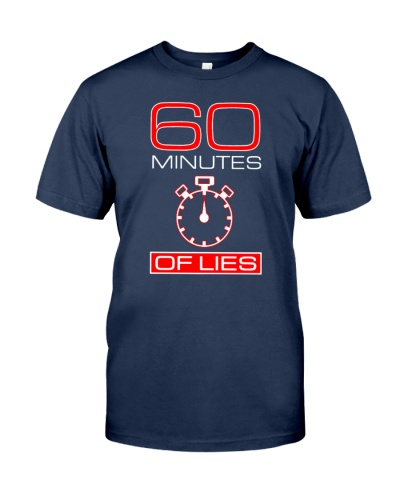 60 minutes of lies shirt